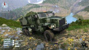 "Ural ""Typhoon"" (3 Colors) Truck for MudRunner"