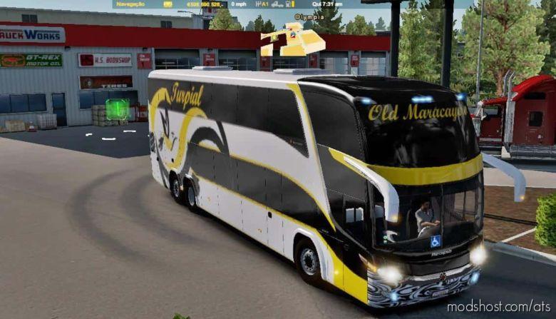 Marcopolo G7 1800 DD 6×2 – 8×2 [1.36] V2.0 for American Truck Simulator