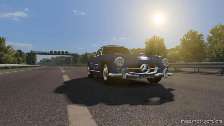 Mercedes Benz 300SL for American Truck Simulator