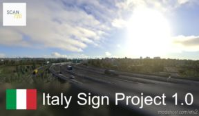 Italian Sign Project By Scan720 [1.36.X] for Euro Truck Simulator 2