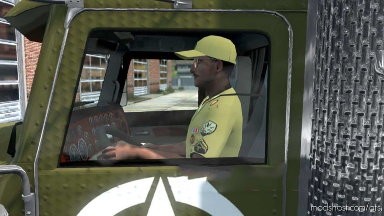 US Military Driver for American Truck Simulator