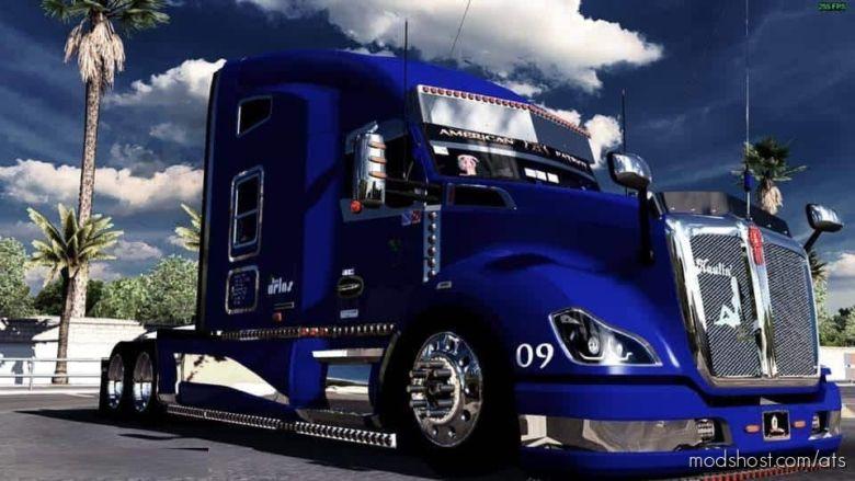 Kenworth T680 Mexicanisimo Custom Truck for American Truck Simulator