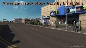 American Truck Stops V1.3 for American Truck Simulator