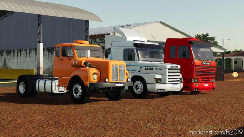 Scania Trucks Pack for Farming Simulator 2019