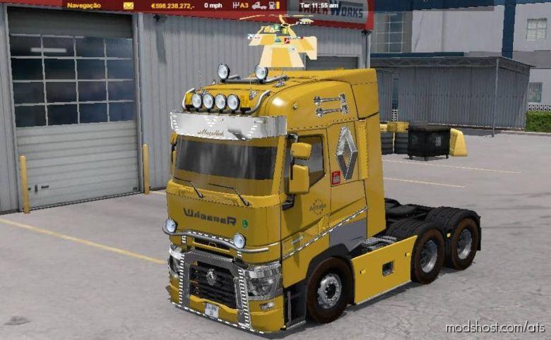 Renault Range T Faca V3.0 for American Truck Simulator