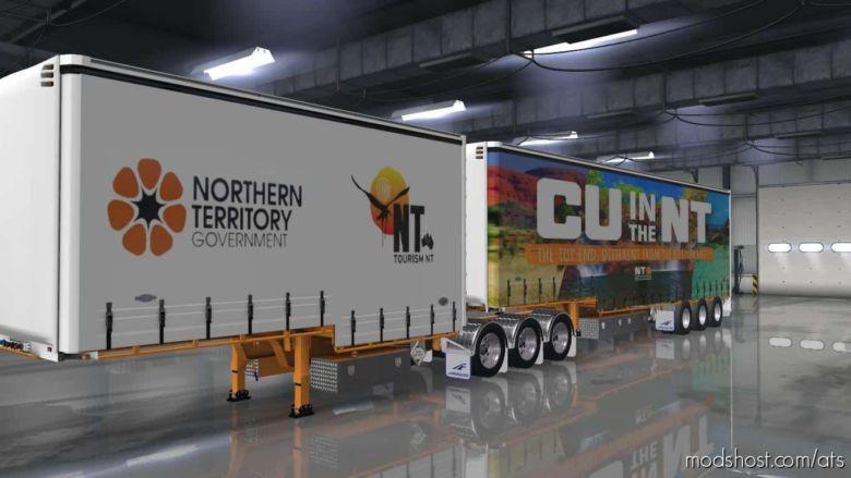 TSA Australian Drop Deck Trailer Skins for American Truck Simulator