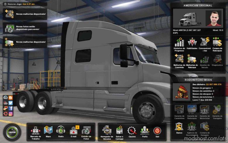 Profile American Original [1.37] for American Truck Simulator
