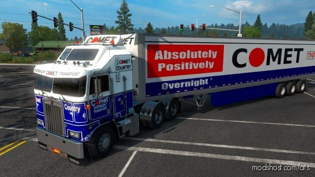 Comet Overnight Transport for American Truck Simulator