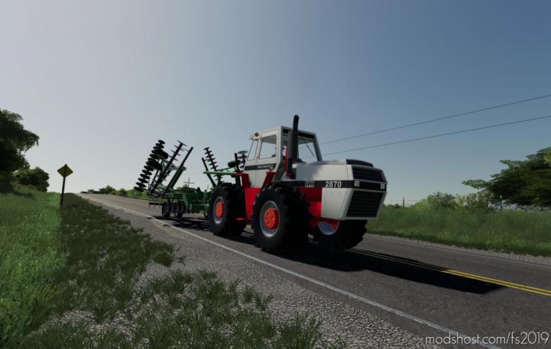 Case 2870 for Farming Simulator 2019