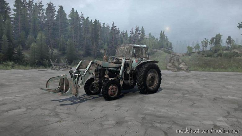 MTZ 80, 82 Tractor V06.03.20 for MudRunner
