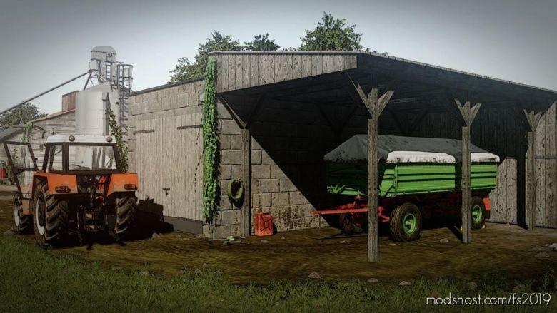 Machine Garage for Farming Simulator 2019