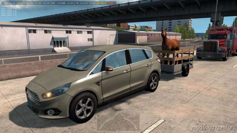 Animal Trailer for American Truck Simulator
