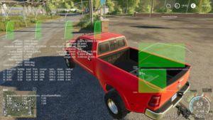 Dodge RAM 3500 Drw/Srw Revised V3.1.1 for Farming Simulator 2019