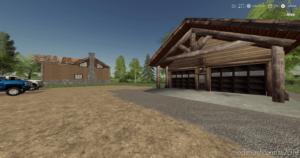 Cabin With Garage Final for Farming Simulator 2019