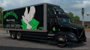 Skin Pack Truck And Moving Rental for American Truck Simulator