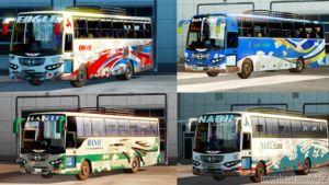 Hino AK1J Dirty Bus Pack [1.35 & 1.36] for Euro Truck Simulator 2