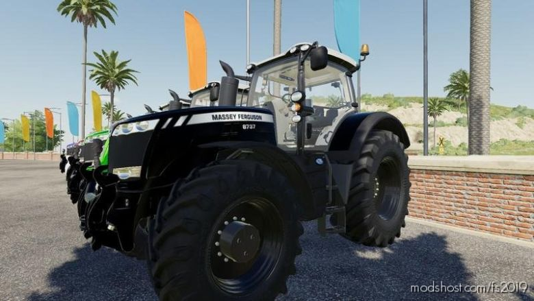 MF8700 Tuning By Sunrisephoenix for Farming Simulator 2019