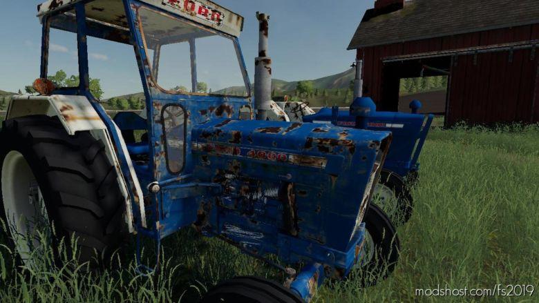Ford 4000 WIP for Farming Simulator 2019