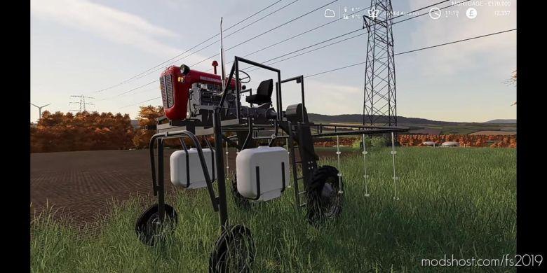 Homemade Sprayer for Farming Simulator 2019