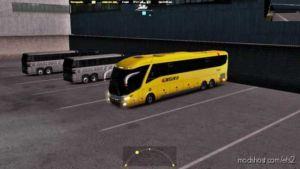 Marcopolo FC Bus G7 Volvo 6X2 V2.0 for Euro Truck Simulator 2