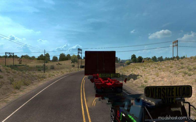 Walkie-Talkie Escort for American Truck Simulator