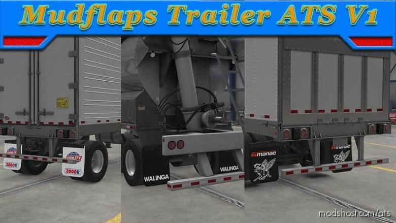 FS19 Mudflaps Trailer for American Truck Simulator