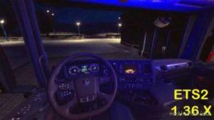 Cabin Lights V1.2 [1.36.X] for Euro Truck Simulator 2