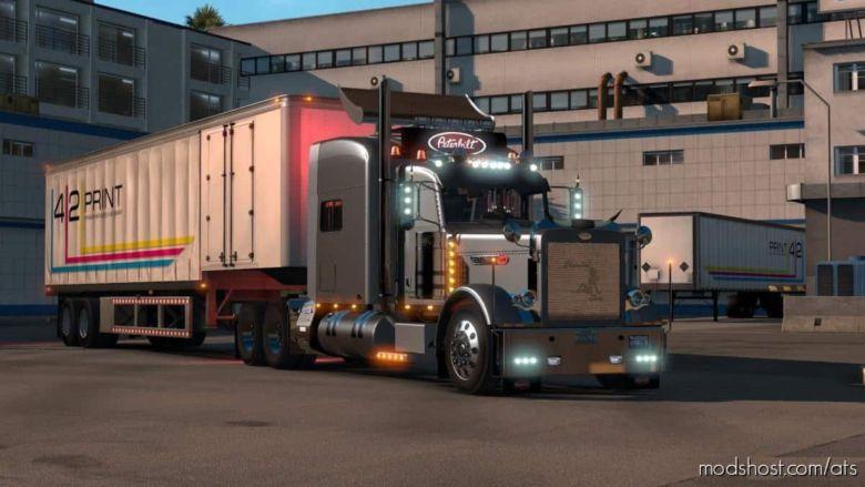 Peterbilt 389 Modified Truck V2.2.6 [1.37] for American Truck Simulator