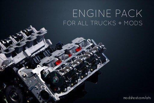 Monster Power Engine Pack [1.36.X] for American Truck Simulator