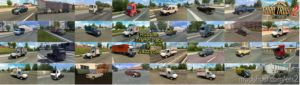 Russian Traffic Pack V2.8.3 [1.36.X] for Euro Truck Simulator 2