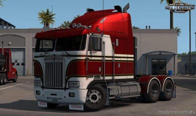 Kenworth K100E Truck [1.37.X Beta] for American Truck Simulator