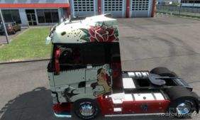 Renault T Range Girl Power Skin for Euro Truck Simulator 2