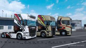 Scania Team Chimera SkinPack [1.36] for Euro Truck Simulator 2