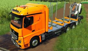 Mercedes Benz Actros 1845 Forestier for Farming Simulator 2019