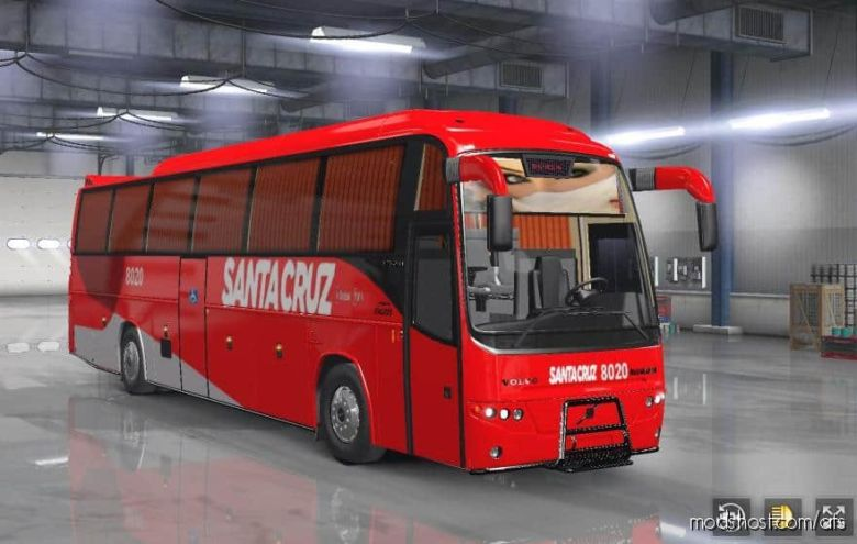 BUS Volvo B12B TX [1.36.X] for American Truck Simulator