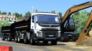 Volvo FMX Kipper Rework By Mistersix V1.5 [1.36] for Euro Truck Simulator 2