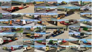 Overweight Trailers And Cargo Pack By Jazzycat V8.4 for Euro Truck Simulator 2