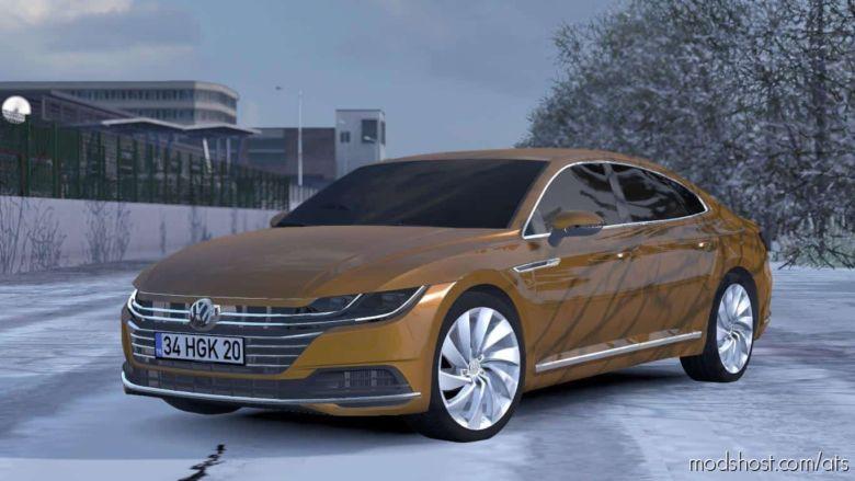 VW Arteon & Passat Cars V1.1 [1.36.X] for American Truck Simulator
