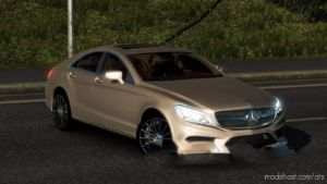 Mercedes-Benz CLS 350D 4Matic 2017 CAR for American Truck Simulator