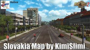 NEW Slovakia Map V23 By Kimislimi [1.36.X] for Euro Truck Simulator 2