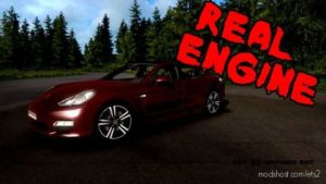 Porsche Panamera Turbo 2010 Real Engine [1.36] for Euro Truck Simulator 2