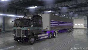 """""""Nemesis Prime"""" For Overfloater's Kenworth K100E for American Truck Simulator"""