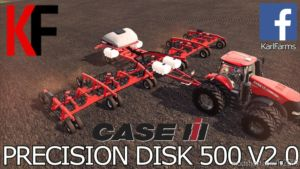 Case IH Precision Disk 500T V2.0 for Farming Simulator 2019