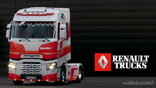 Renault Trucks T High Centaure Skin for Euro Truck Simulator 2