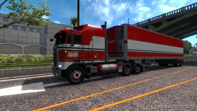 BJ And The Bear Truck Skin For Kenworth K100E V1.1 for American Truck Simulator