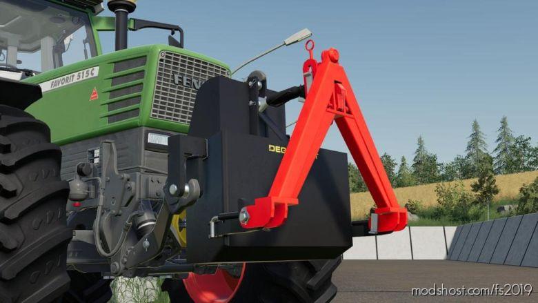 Degenhart Ballast Tank V1.1 for Farming Simulator 2019