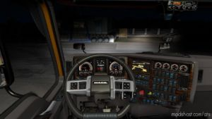 Dashboard Lighting Mack Anthem V0.1 Beta for American Truck Simulator