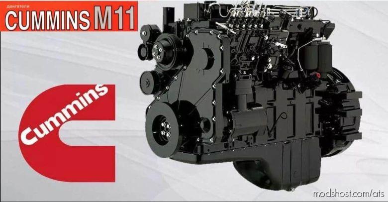 Cummins M11 Engine Sound for American Truck Simulator