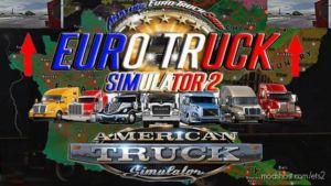 Mini Mirrors Small for Euro Truck Simulator 2