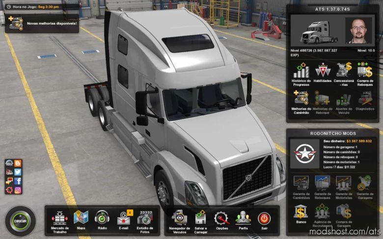 Profile 1.37.0.74S 1.37 for American Truck Simulator